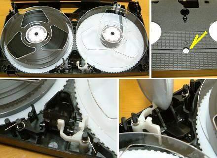VHSビデオカセットテープ