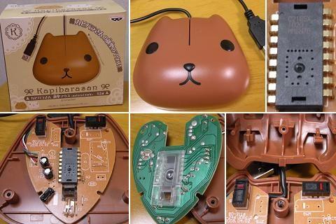 カピバラさん顔型マウス