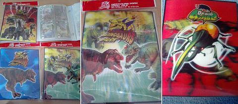 ダイノサウルスパーク&ムシハカセ カードファイル
