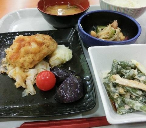 社食のランチ @産総研つくば西