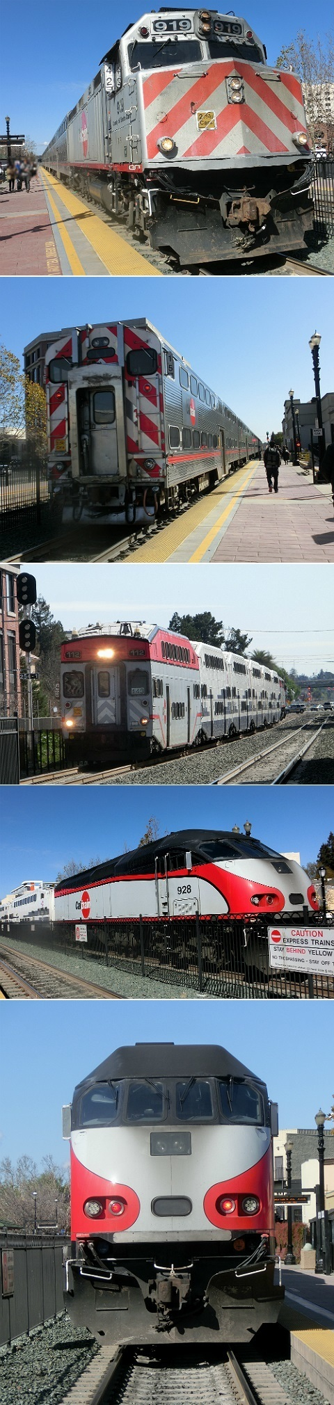 アメリカ出張【Caltrain @Redwood City】
