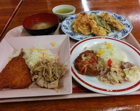 学食でランチ @長岡技術科学大学