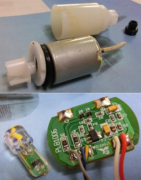 自動停止機能付き電動式灯油ポンプ