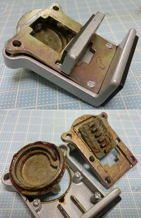 サッシ窓用補助錠(サッシストッパー) 破損