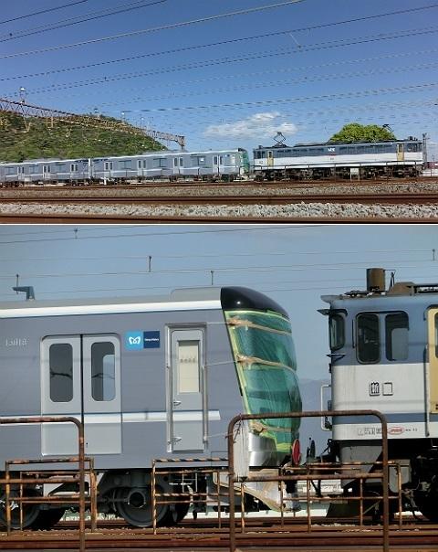 東京メトロ 13000系 甲種回送(甲種輸送)