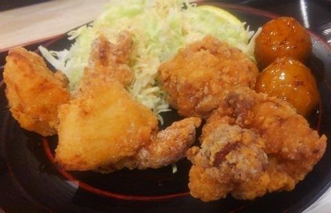 鶏三和 鶏唐揚御膳 @ららぽーと湘南平塚