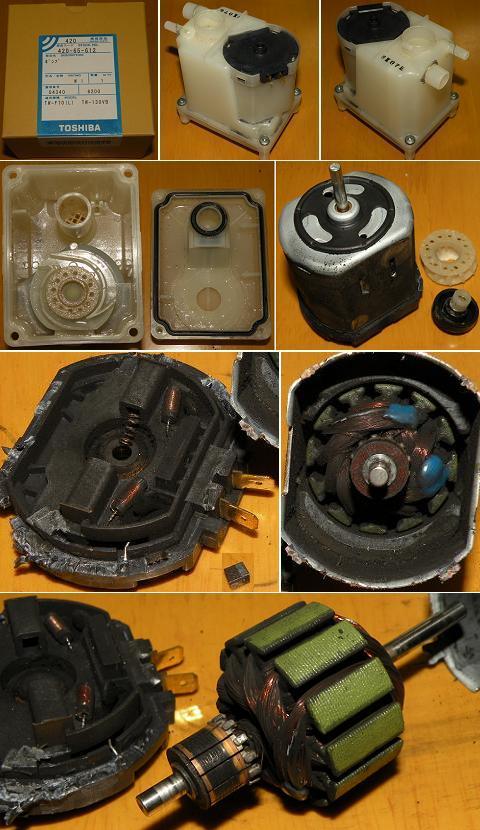 ドラム式洗濯乾燥機TW-130VB 内蔵風呂水ポンプ修理