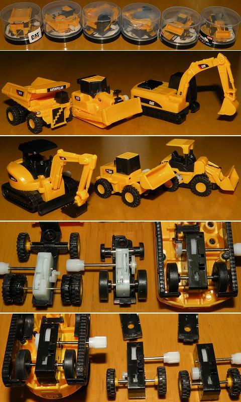 ダブルアクション CAT建設機械コレクション