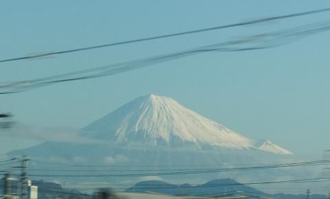 A席から見える富士山