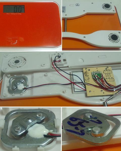 デジタルヘルスメーター(体重計)