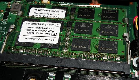 PC3-8500(DDR3-1066) 204pin