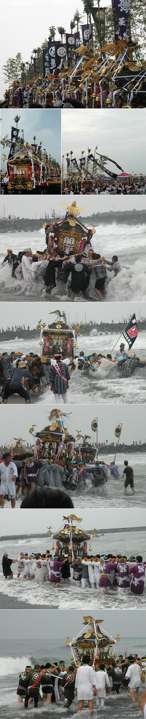 茅ヶ崎海岸 浜降祭 2013