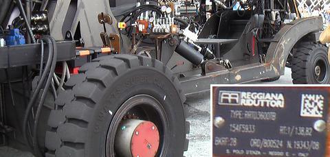 ラ・マシン ステアリング、補助車輪部