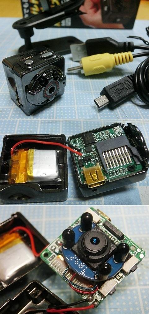 フルHD 超小型防犯カメラ