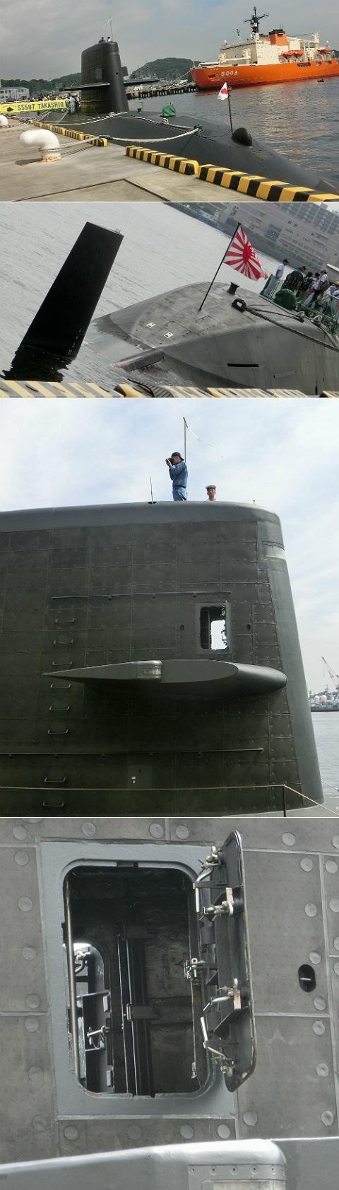 潜水艦たかしお SS597