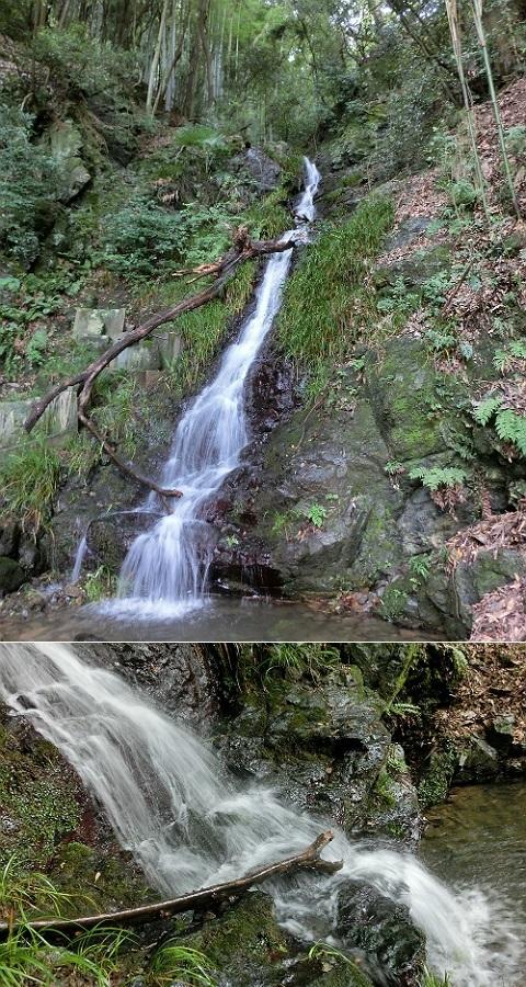 水無瀬の滝 @島本町