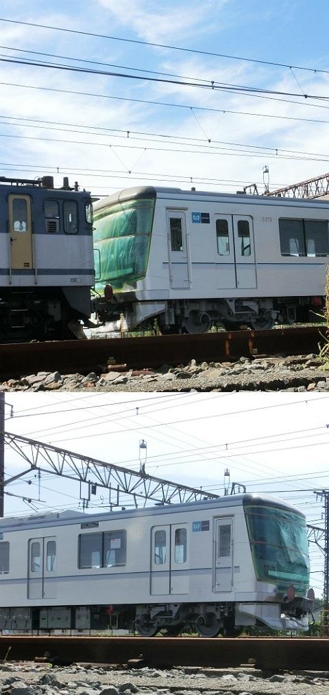 東京メトロ 13000系 甲種回送(甲種輸送) その2