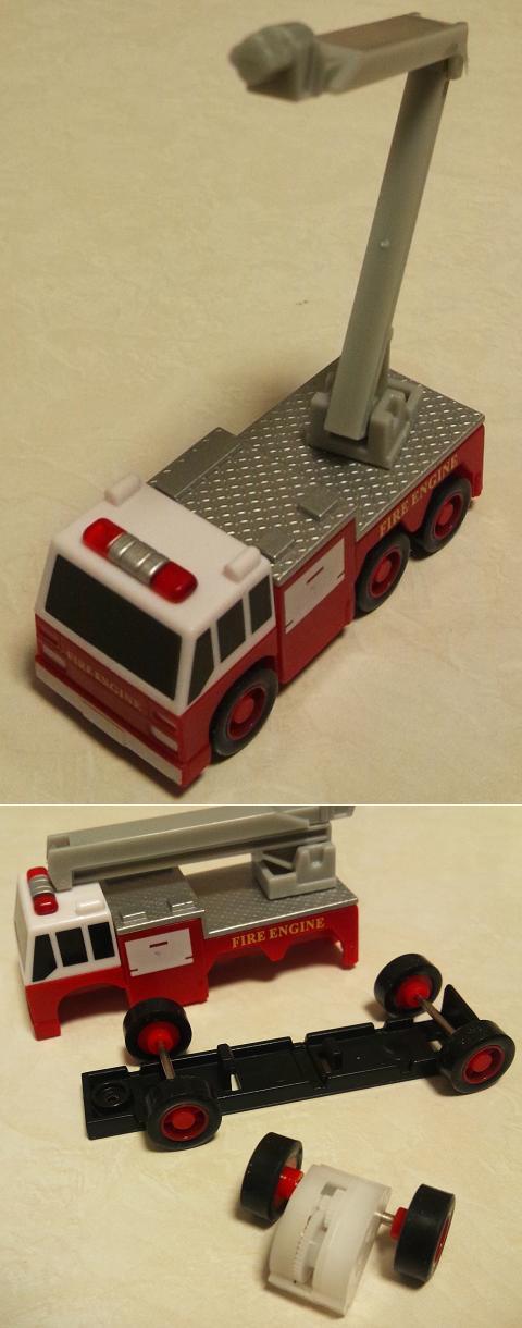 FIRE ORIGINAL ミニミニチョロQコレクション 高圧放水砲付き消防救護車