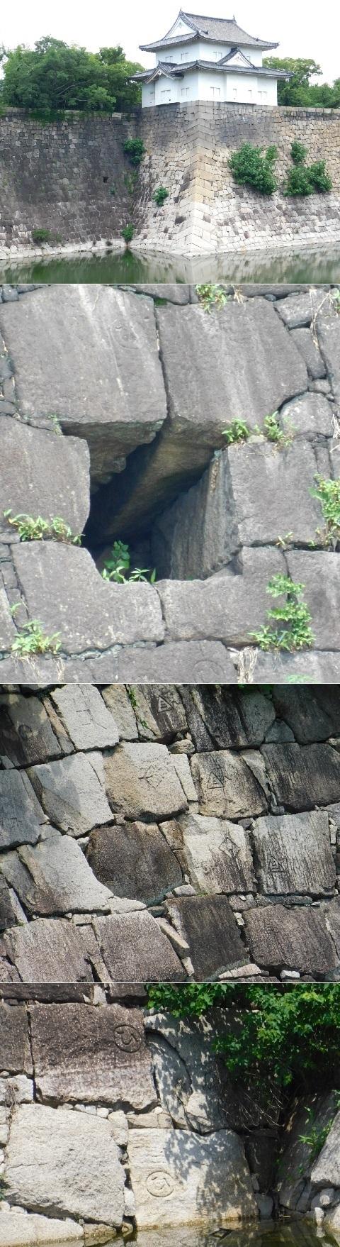その5@大阪城の櫓 2020年